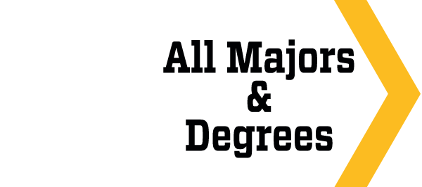 all majors and degrees
