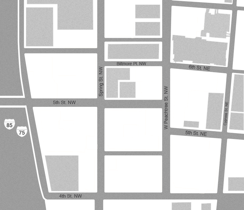 Map of Tech Square