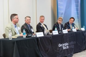 Panelists discuss Georgia Tech's innovation ecosystem