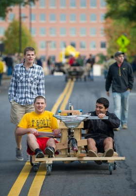 Homecoming Wreck Parade Contraption