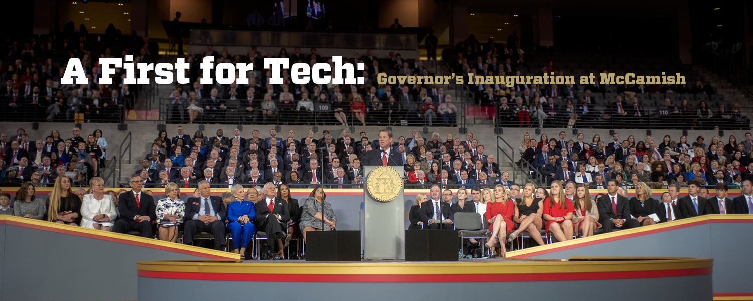 A First for Tech: Governor's Inauguration at McCamish