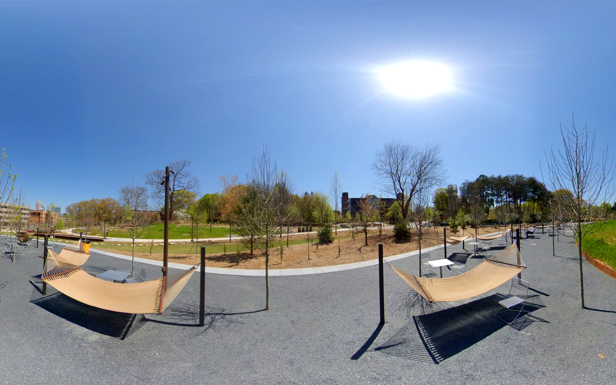 360-degree view of the EcoCommons.
