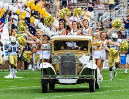 Georgia Tech football is celebrating 100 years at Grant Field this fall. Go Jackets!